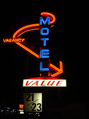 Motel (Curtis Gregory Perry) Tags: 2005 road old travel november blue light red signs color colour classic luz glass beautiful sign electric night vancouver america warning vintage wonderful dark fun hotel licht us crazy inn highway colorful neon pretty glow unitedstates northwest bright lumire lodging room tube tubes motel ne retro gas chain 99 american signage electricity pacificnorthwest americans glowing instructions colourful value dying amerika electrical vanishing information fragile vacancy suites luce instruction muestra placard important advisory accomodation exciting signe sinal placards neons accomodations motorinn unsettling  zeichen highway99 non segno ninetynine  biway  motorlodge motorcourt   teken  motorhotel amerikan   us99  glowed    neonic