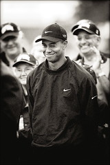 Tiger Woods (gallow_chris) Tags: blackandwhite bw sport club golf woods nikon tiger nike course winner win masters pga wink tw tigerwoods britishopen bellcanadianopen chrisgallow 300mmf28d chrisgallow allrightsarereserved