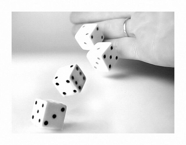 Rolling Dice by Catherine Jamieson