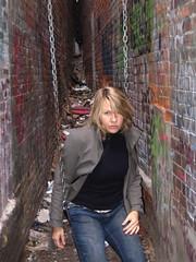 swing sookie (416style) Tags: toronto canada graffiti garbage alley paint swing sookie brickwall 416 416style urbanlifeinmetropolis