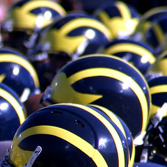 What Else Is There Today? GO BLUE! (Andrew Morrell Photography) Tags: michigan blue goblue best college football program history game annarbor 15fav