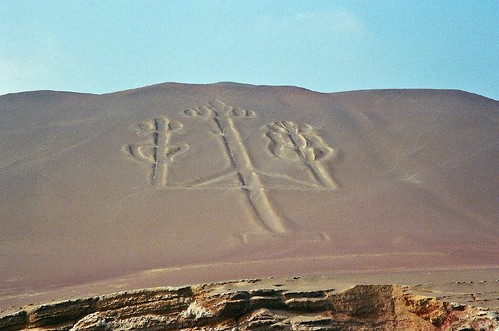 The symbols of Paracas in Peru
