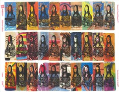 Full page Mona Lisa artistamps (84rms) Tags: interestingness stamps monalisa fakes cinderellas artistamps 84rm interestingness230 i500