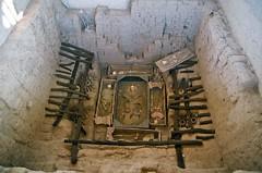 Tomb of El Seor de Sipan (Bruno Girin) Tags: peru lambayeque sipan huaca rajada