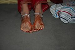 Shveta's feet