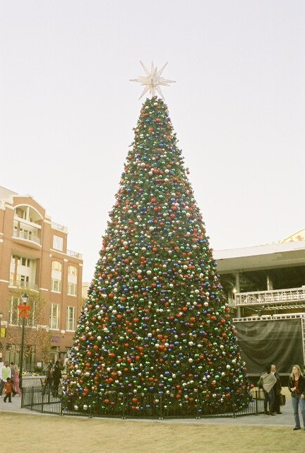 The Atlantic Station Christmas Tree