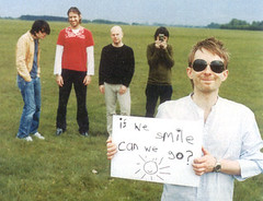 if we smile, can we go? (paulihoney) Tags: radiohead thomyorke edobrien colingreenwood jonnygreenwood philselway