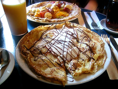 crepes in heaven (fjennludwig) Tags: food chocolate montreal cinnamon hangover brunch apples crepes leplateau yummyyummy chezjose
