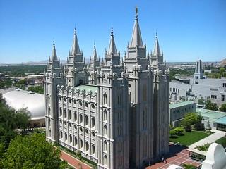 Utah, Salt Lake City Mormon Temple