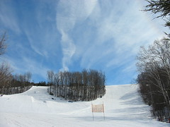 Snow and sky -- Hockley Valley