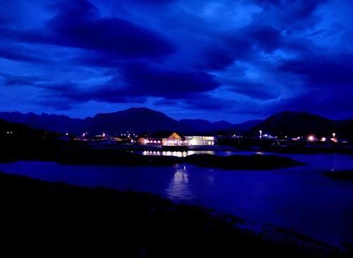 Arctic blue light