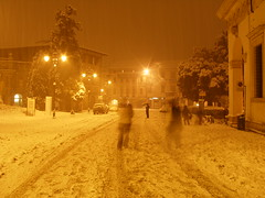 Piazza Matteotti (the bbp) Tags: italy snow night italia neve notte vicenza thebbp