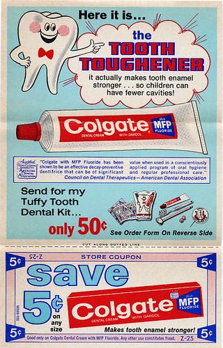 free coupons. Retro Colgate Coupon (don#39;t