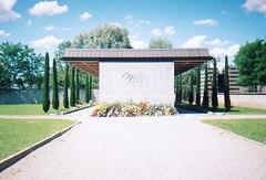 Longings (Sergio Dimartino) Tags: cemeteries film cemetery architecture gardening scanned meridian cavafy kavafis meridianmarker