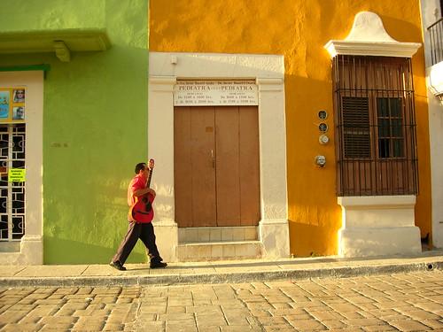 Calle de Campeche, México