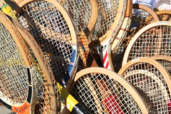old school tennis racquets