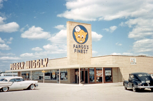 Piggly Wiggly Grocery Store Sign, 1950's