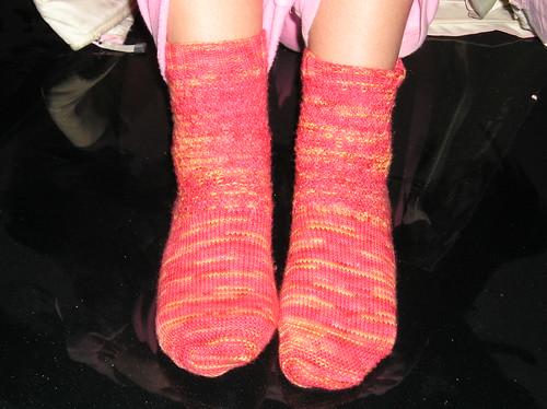 Red Hot Socks