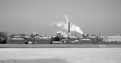 "City prison ""Crosses"" (vetkaa) Tags: winter bw mrjackfrost architecture town petersburg 2006 notpicked mireasrealm"