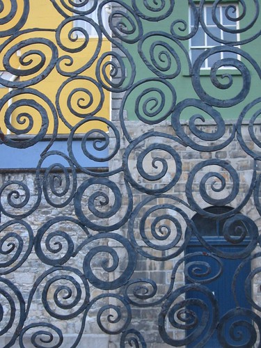 Celtic Sprially Wrought-iron