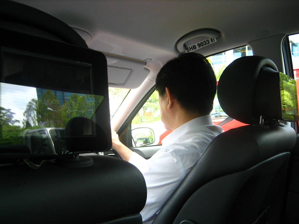 Watch TV in the cab