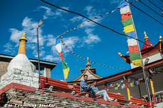 Kalpa 1 (travelling slacker) Tags: himachalpradesh kinnaur kalpa shivling kinnaurkailash reckongpeo