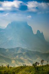 PHU PHA CHAO WITH LIGHT AND FOG (::: a j z p h o t o g r a p h y :::) Tags: trip travel light sky cloud mountain fog landscape scenery hill foggy roadtrip laos viewpoint vangvieng louangprabang