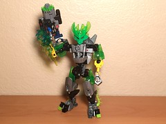 Lewa & Protector of Jungle (xFlashDx) Tags: toy lego action technic figure bionicle 2015