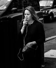 Smoking (Ed.Aldridge-DeanStreetDesigns) Tags: street blackandwhite london monochrome blackwhite streetphotography streetportrait streetphoto blackandwhitephotography streetphotographer streetphotobw