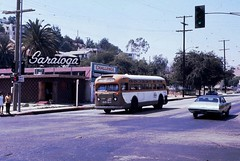 082 RTD Line 79 6640 Huntington Dr. & Monterey Rd  19711007 AKW (Metro Transportation Library and Archive) Tags: buses scrtd alanweeks southerncaliforniarapidtransitdistrict