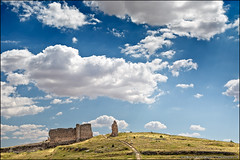 valeria (heavenuphere) Tags: city sky archaeology clouds landscape site spain ruins europe roman espana valeria archaeological cuenca excavation castillalamancha 24105mm castilelamancha
