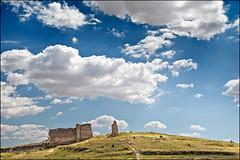 valeria (heavenuphere) Tags: city sky archaeology clouds landscape site spain ruins europe roman espana valeria archaeological cuenca excavation castillalamancha 24105mm castilelamancha
