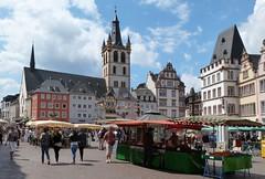 Trier (Rheinland-Pfalz, Deutschland) (p_jp55 (Jean-Paul)) Tags: panorama church germany deutschland market kirche markt allemagne glise march trier rheinlandpfalz hauptmarkt trves trier marktkirchesanktgangolf