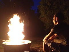 Soirée camping à Tokaj