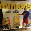 Our  great grandson   ( Mikael  )   loved this movie (Bob the Real Deal) Tags: me fresno superdad atthemovies mikael minions saybeedo