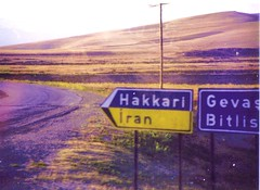 "Near Lake Van Turkey - Road to Hakkari ""The Ultimate Dead End"" (ramalama_22) Tags: road money danger turkey river ancient war gulf iran iraq border first route batman syria leader iranian southeast protection fortress tigris invasion kurdish kurd silvan hakkari tributary diyarbekir"