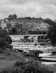 clare 006edit (barry.oshea) Tags: ireland sea white black water clare donkey ennistymon lehinch