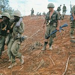 Wounded American Soldier Evacuation From Hill Eight Sixty One thumbnail