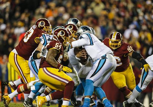 The Redskins Sack Newton