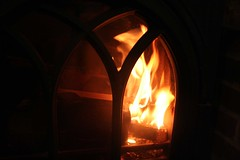 6/365- Fire me up! (ArcherPhotography) Tags: fireplace fire burning wood heat warmth cold 6365 january astf10