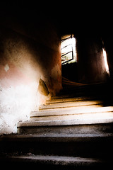 Getting somewhere... (vale0065) Tags: stairs trappen greece griekenland rhodos rodos rhodes eleousa facist italian italiaans building gebouw sanatorium abandoned verlaten lost verloren old oud urbex