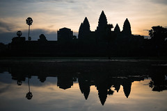 Angkor mirror (michaelyu208) Tags: angkorwat asia cambodia fuji lake light lightroom majestic michaelyu208 mirror mirrored passionpassport reflection siemreap sunrise temple travel travelasia vcso xt10
