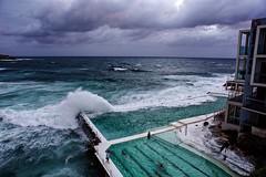 Bondi Icebergs Storm (Sekimpic) Tags: canon canoneos5dmarkiii canon5dmarkiii ef2470mmf28liiusm australia bondi beach bondibeach storm ocean pool wave waves dark swimming swimmingpool aperture apple