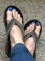 OPI - Miss Piggy's Big number (toepaintguy) Tags: male guy men man masculine boy nail nails fingernail fingernails toenail toenails toe foot feet pedi pedicure sandal sandals polish lacquer gloss glossy shine shiny sexy fun daring allure gorgeous opi blue miss piggy christmas holiday xmas
