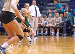 IMG_8348 (SJH Foto) Tags: girls volleyball high school york delone catholic team teen teenager libero dig bump