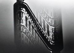 (mikehip) Tags: doubleexposure film filmisnotdead kodak holga 35mm flatiron nyc newyorkcity blackandwhite abstract analog photography photo building sky