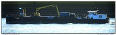 Vos (Morthole) Tags: slitscan ship boat schip boot barge binnenvaart schiff rheinschiff vos bulk vrachtschip