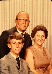 Family Portrait Color Slides - 1960's? (Mike Leavenworth) Tags: portrait color slide vintage family