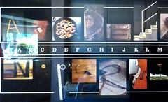 Alphabet In Pictures, A - M (Chic Bee) Tags: officeart art alphabet alefbet pictures photos dradampershing dentist rofehshinayim tucson arizona southwesternusa americansouthwest clever original creative excellent interesting photography