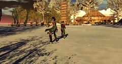 Avilion Nexus (Osiris LeShelle) Tags: secondlife second life avilion nexus medieval fantasy roleplay combat cta call arms beacons winter snow ice landscape